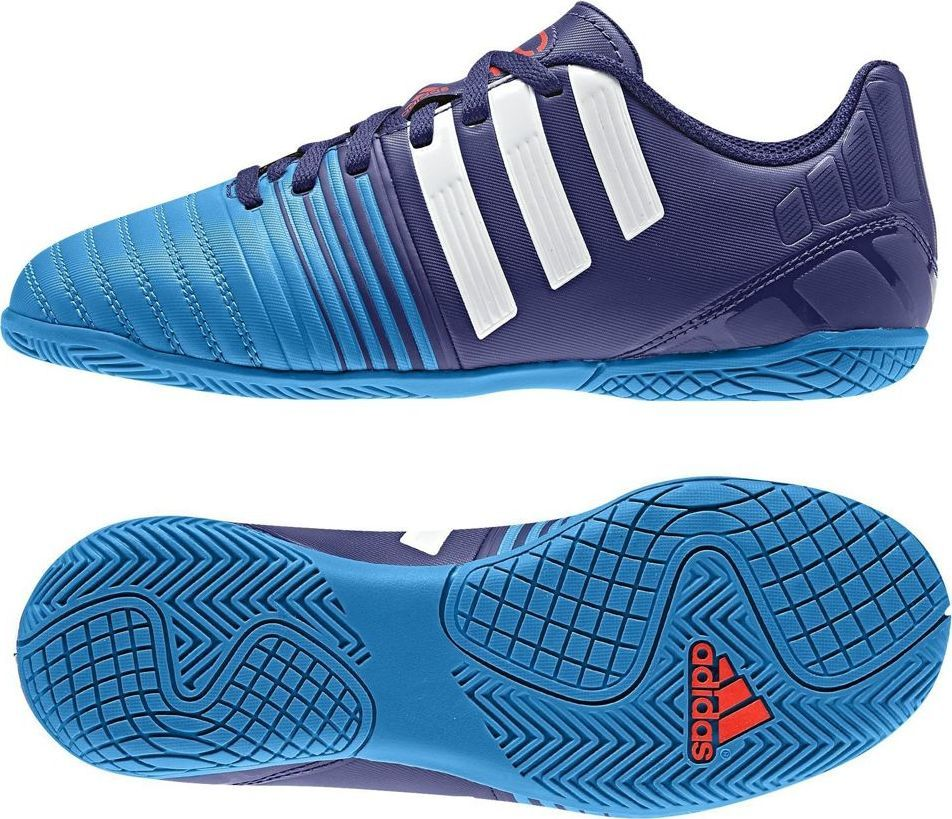 Buty adidas Nitrocharge 4.0 IN CzarnyBiałyPomarańczowy