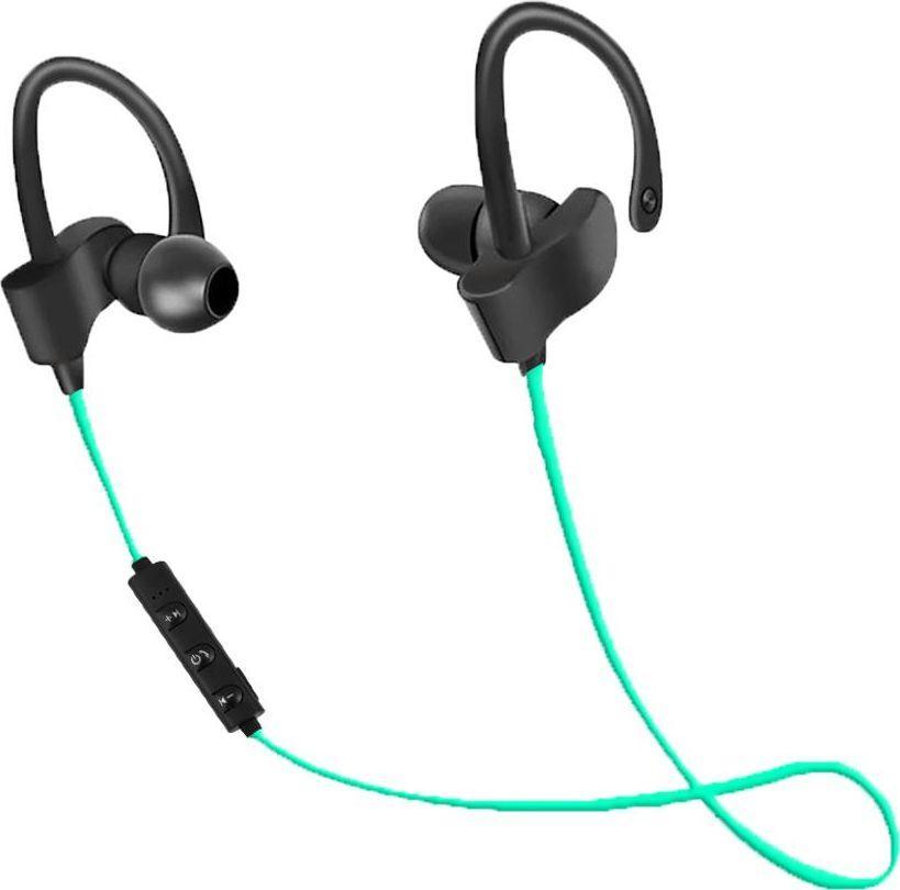 Słuchawki Esperanza EH188G SŁUCHAWKI DOUSZNE BLUETOOTH SPORTOWE CZARNO ZIELONE ID produktu: 5808460