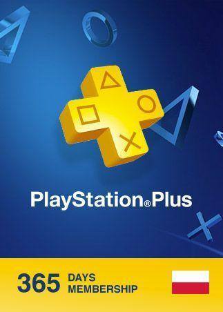Sony PlayStation Plus Card 365 Days/POL (9261537) ESD 1