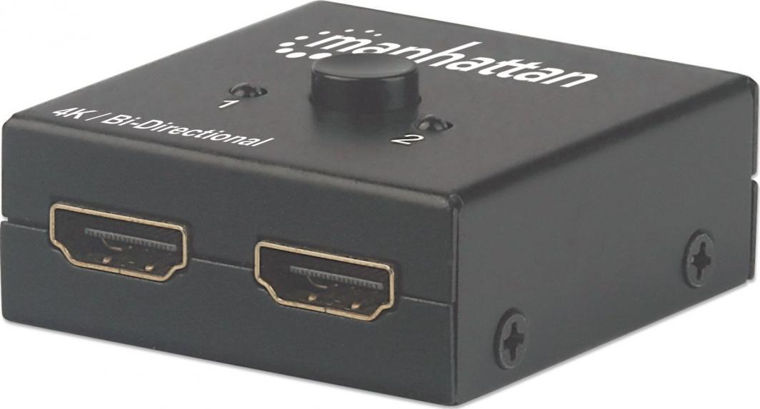 Manhattan Przełącznik/splitter HDMI (207850) 1