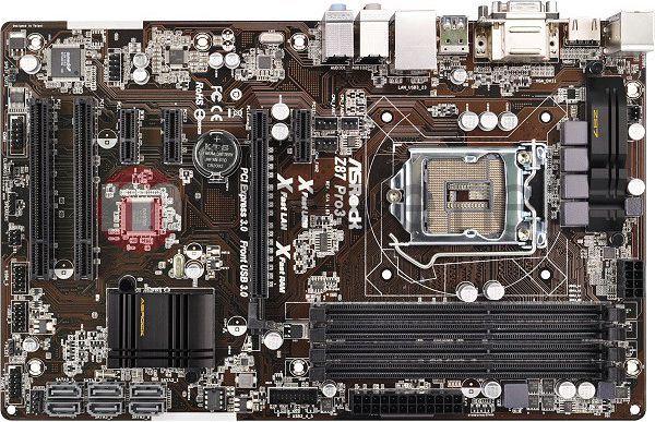 Płyta główna ASRock Z87 PRO3 s1150 Z87 4DDR3 USB3/RAID/8CH ATX BOX (Z87 Pro3) 1