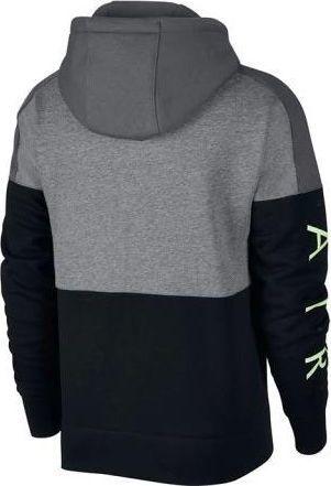 oficjalny sklep San Francisco nowa wysoka jakość Nike Bluza męska Nsw Hoodie Air Fz 091 szaro-czarna r. uniwersalny ID  produktu: 5816550