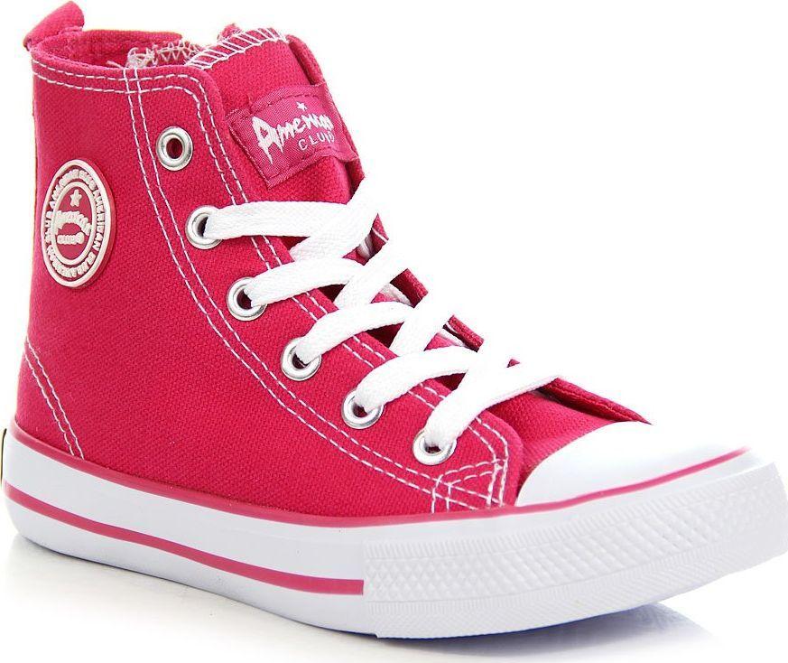 American Club Trampki dziecięce AM61E różowe r. 28 ID produktu: 5819890