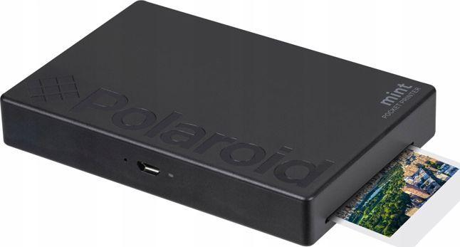Drukarka fotograficzna Polaroid Polaroid Mint Drukarka Zdjęć Bluetooth Do Telefonu - Czarna 1
