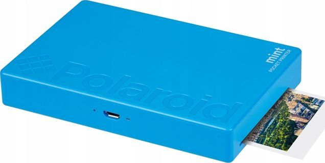 Drukarka fotograficzna Polaroid Polaroid Mint Drukarka Zdjęć Bluetooth Do Telefonu - Niebieska 1