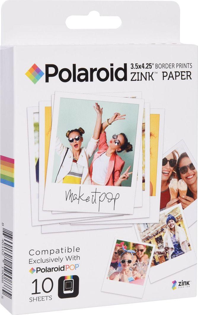 Polaroid Wkłady / Papier / Wkład Zink Do Polaroid Pop - 10 Szt. 1