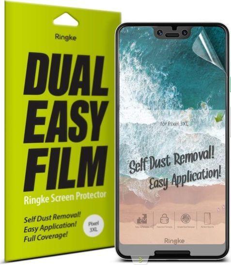 Ringke Folia Ringke Dual Easy Full Cover Google Pixel 3 XL Case Friendly 1