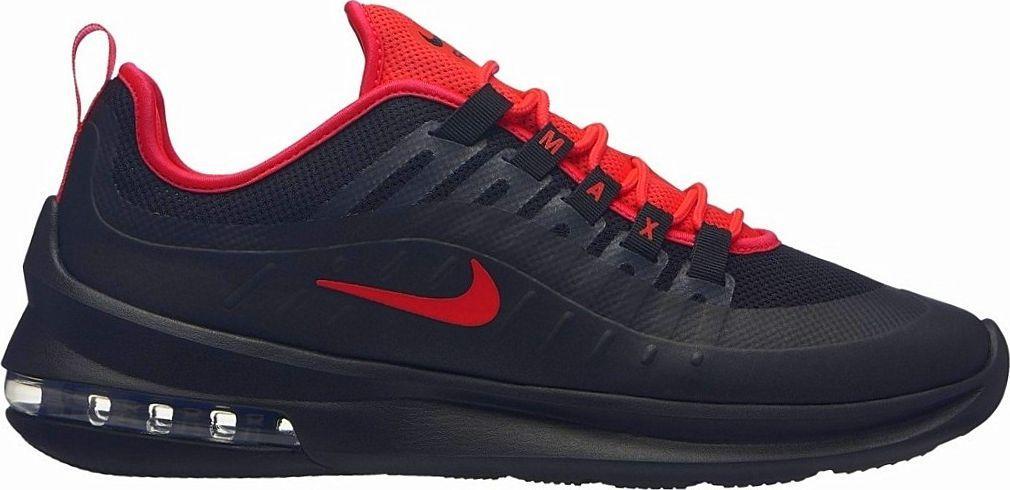 Nike Buty męskie Air Max Axis czarno czerwone r. 44.5 (AA2146 008) ID produktu: 5829688