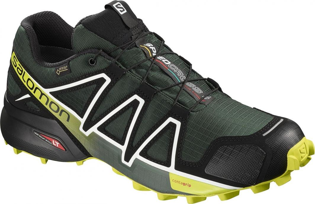Buty sportowe męskie Salomon speedcross sznurowane gore tex