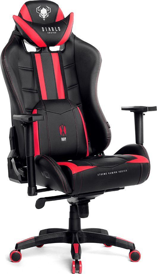 Fotel Diablo Chairs X-RAY model XL CZARNO-CZERWONY (5902560336115) ID  produktu: 5831161