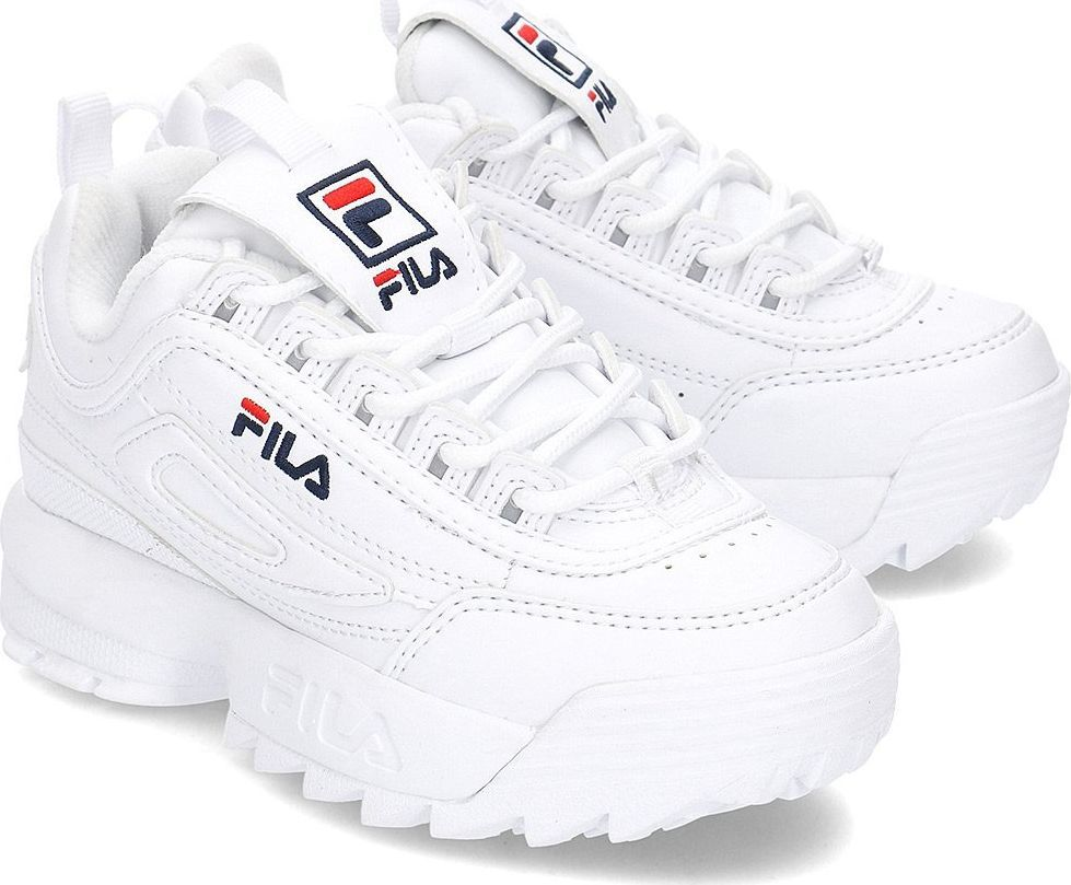sneakersy dziecięce Fila czarne Buty sportowe dziecięce