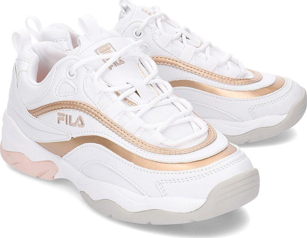 buty damskie adidas bialo złote