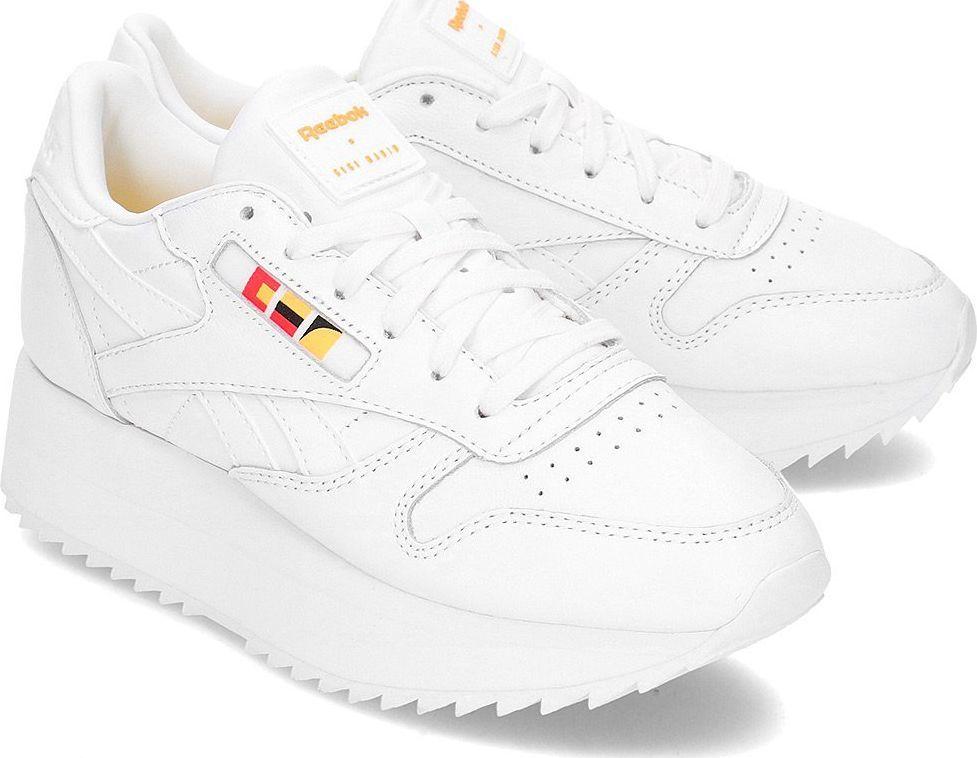 Białe obuwie sportowe treningowe Reebok Kolekcja wiosna