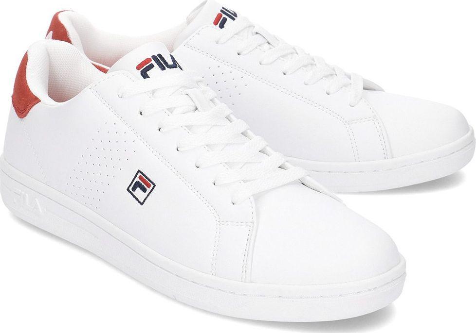 Fila Buty męskie Crosscourt 2 Low biało czerwone r. 45 (1010276.02A) ID produktu: 5854071