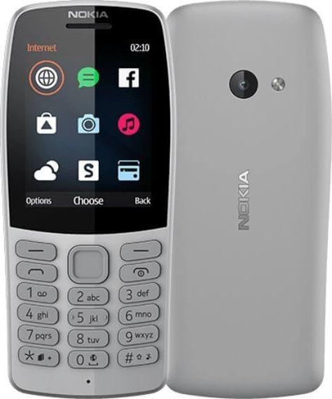 Telefon komórkowy Nokia 210 TA-1139 DS PL GREY 1