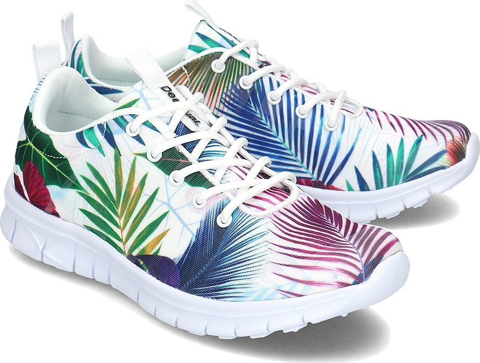 c9d41456e2f6e Desigual Buty damskie Floral Running Trainers Bio Patching r. 36 (19SUKW04  1000) w Ubieramy.pl