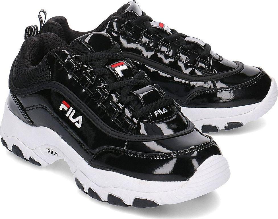 buty damskie fila czarny znaczek