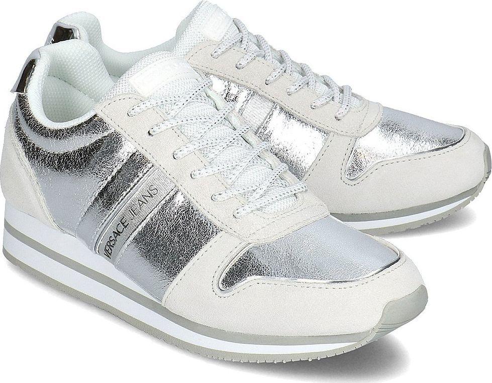 Versace Jeans Buty damskie biało srebrne r. 37 (E0VTBSA1