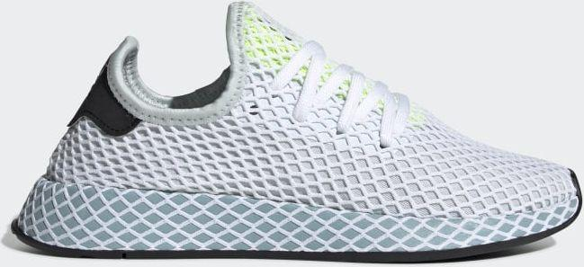 Adidas Buty damskie Deerupt Runner Blue TintAsh GreyHi Res Yellow r. 36 (CG6094) ID produktu: 5861281