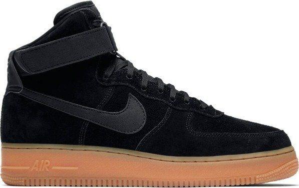 Buty męskie Nike Air Force 1 High'07 Suede Niebieski