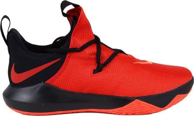 buty męskie nike czerwono-czarne