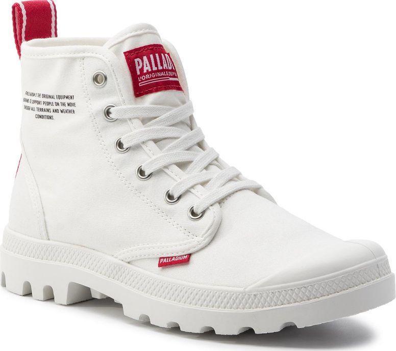 niskie ceny tania wyprzedaż najlepszy wybór Palladium Buty damskie Pampa Hi Dare Star White r. 37 (76258-116) ID  produktu: 5863952