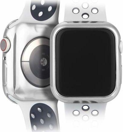 Dux Ducis Etui elastyczne Plating srebrne Apple Watch 4 (44mm) 2 szt. 1