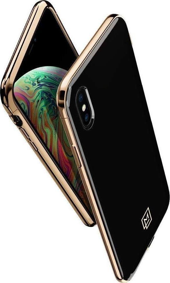 Spigen Nakładka La Manon do Apple iPhone X/XS czarno-złota 1