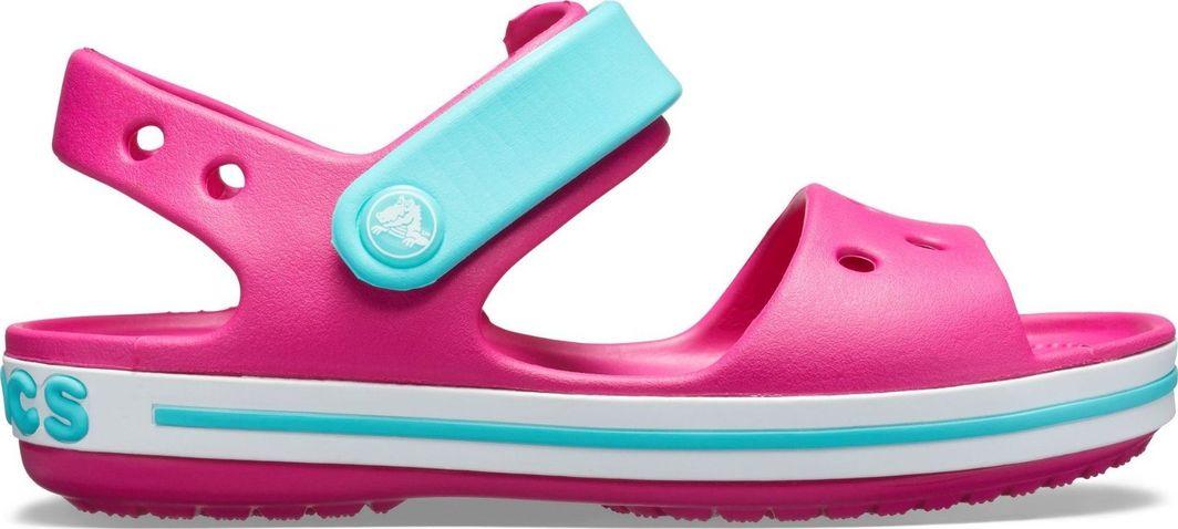 ekskluzywne oferty ogromny wybór ekskluzywne buty Crocs Sandały dziecięce Crocband Candy Pink/Pool r. 26 (12856) ID produktu:  5882237