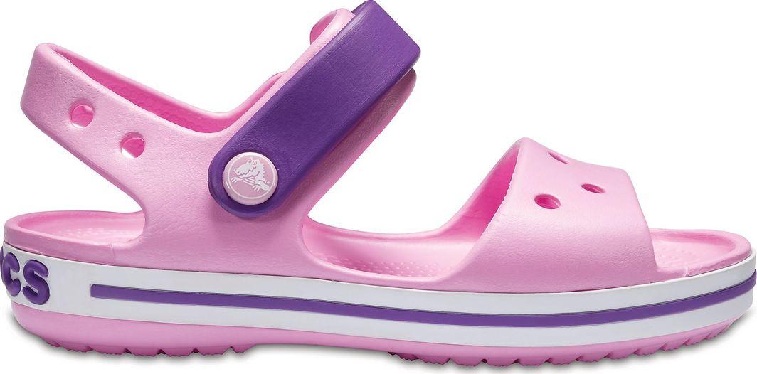 buty do biegania różne wzornictwo 2018 buty Crocs Sandały dziecięce Crocband Carnation / Amethyst r. 28 (12856) ID  produktu: 5882260