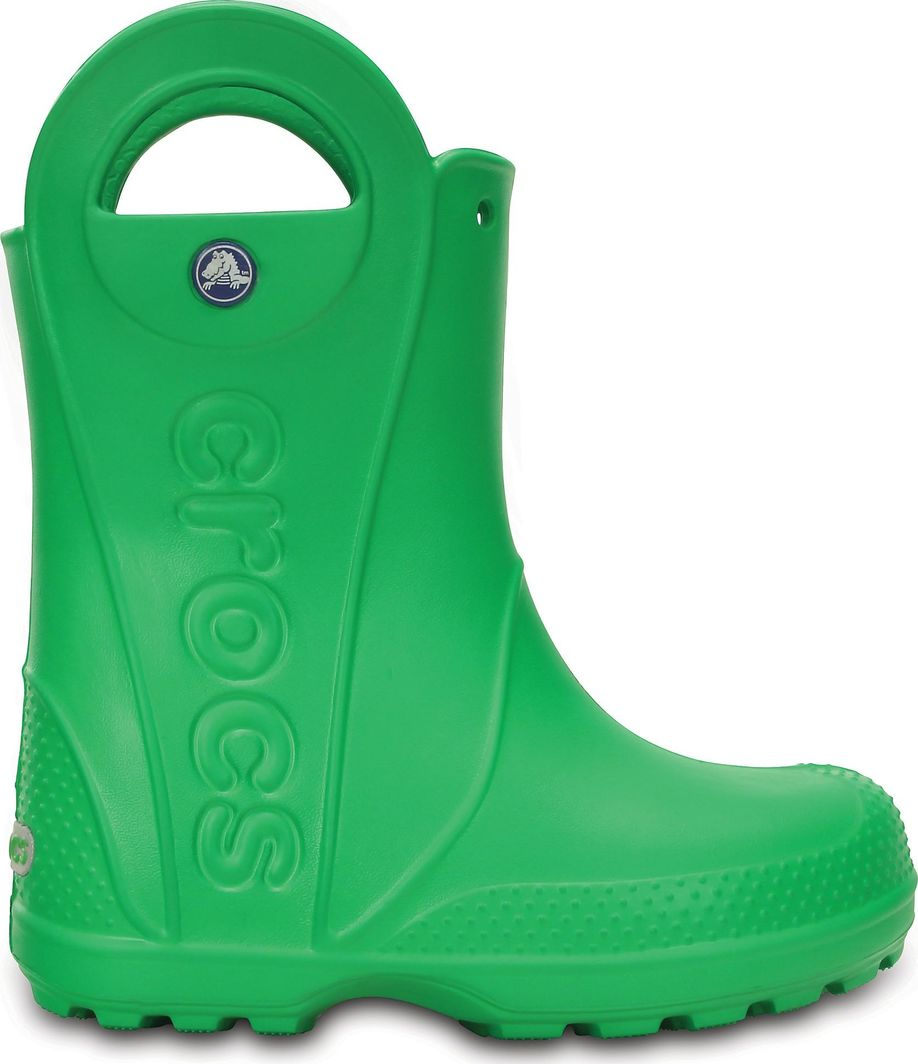 Crocs Crocs™ guminiai batai vaikams Handle It Rain Boots, Grass Green 1