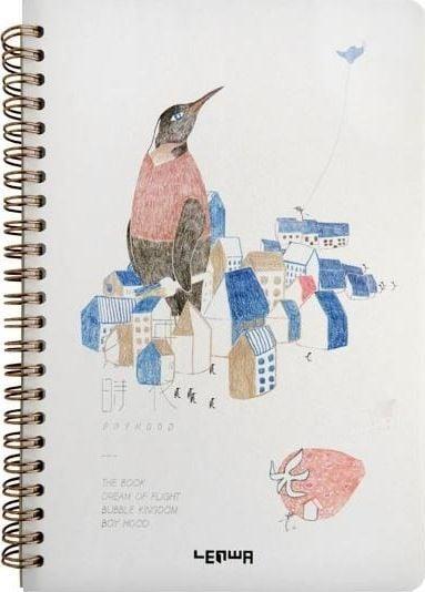 Incood Notes A5/68K Pingwin w mieście 1