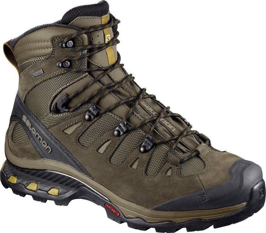 Buty górskie Salomon Quest 4D 3 GTX 401518 brąz 401518