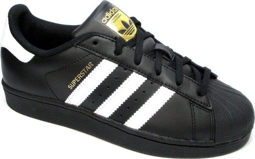 Adidas Buty dziecięce Superstar Foundation czarne r. 36 23 (B23642) ID produktu: 5888908