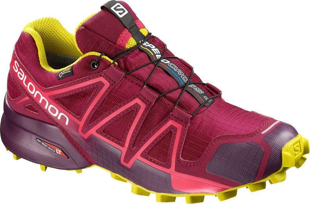Czerwone Damskie Sukienki Salomon Speedcross 4 Gore Tex Na