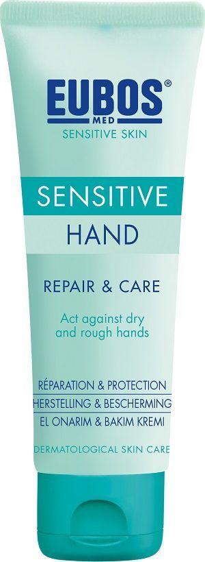 Dove  EUBOS_Med Sensitive Skin Hand Repair & Care regenerująco-ochronny krem do rąk 75ml 1