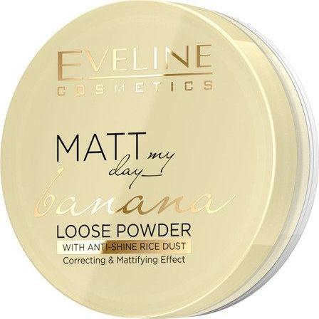Eveline Puder sypki Matt My Day Banana Loose Powder Correcting&Mattifying 6g 1