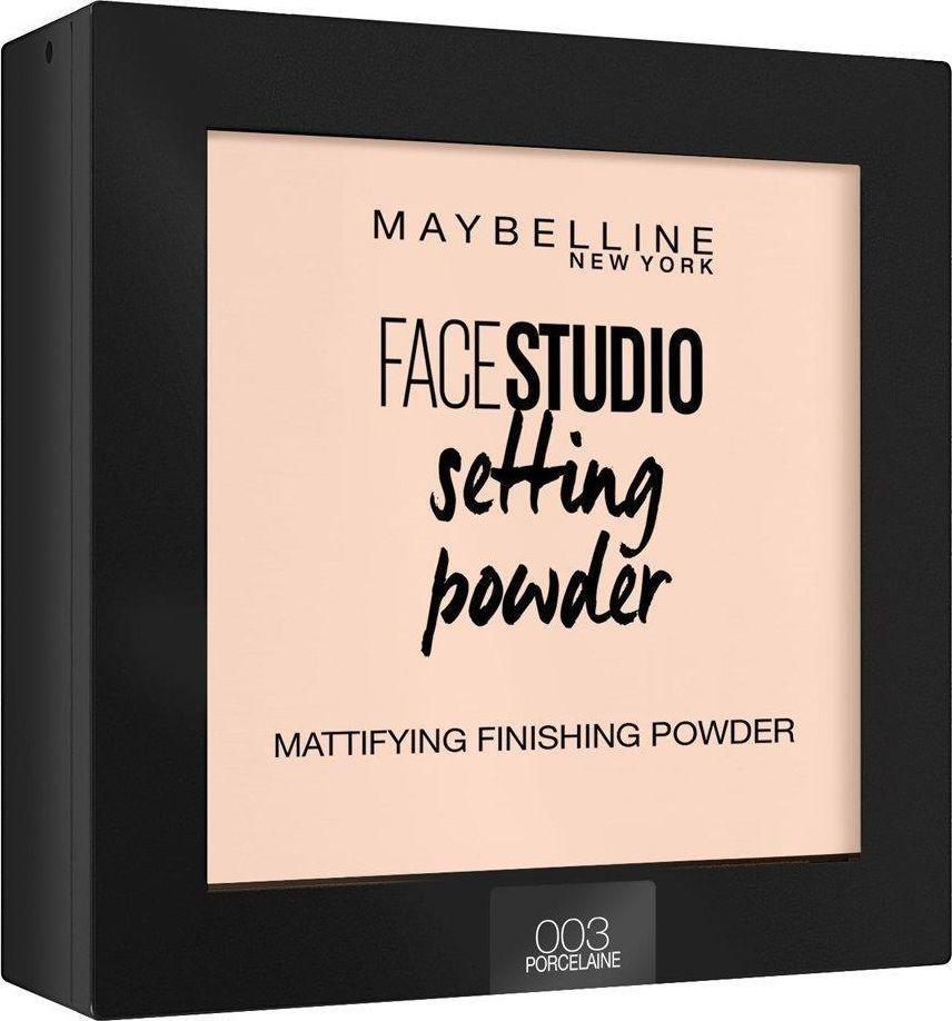 Maybelline  Puder do twarzy Face Studio Setting Powder 003 Porcelaine 9g 1