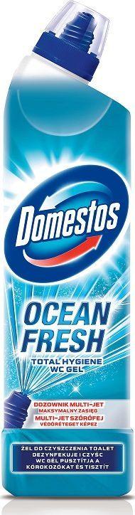 Domestos DOMESTOS_Total Hygiene Wc Gel żel do czyszczenia toalet Ocean Lime Fresh 700ml 1