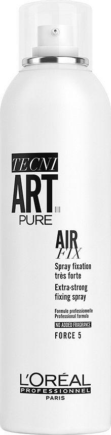 L'Oreal Professionnel Tecni Art Pure Air supermocny utrwalający lakier Force 5  1