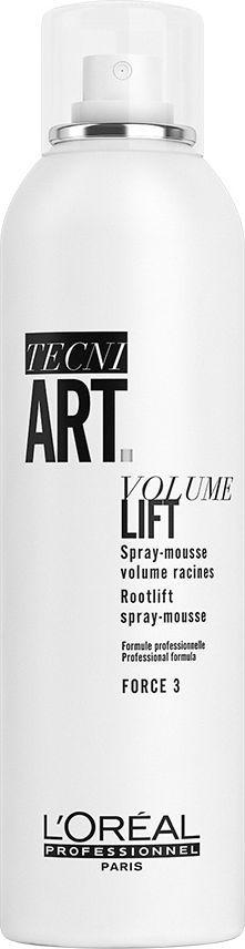 L'Oreal Paris Pianka do włosów Tecni Art Volume Lift Root Lift Spray-Mousse Force 3 250ml 1