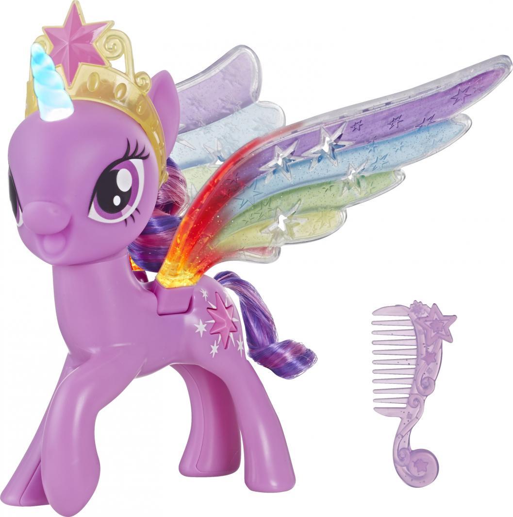 Hasbro My Little Pony Twilight Sparkle z tęczowymi skrzydłami (E2928) 1