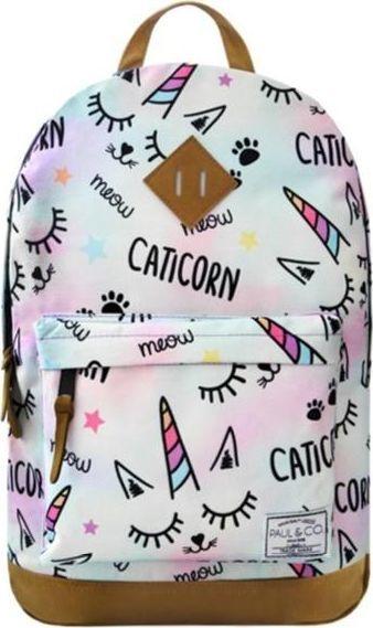 Incood Plecak Caticorn pastelowy 1