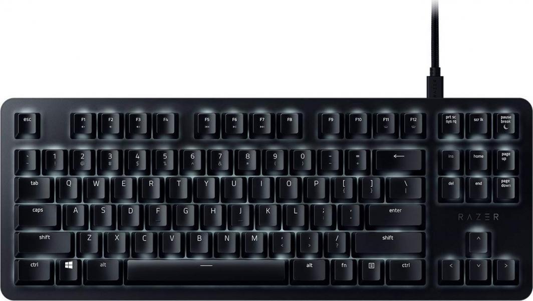 Razer BlackWidow Lite Mercury Edition Orange Switch