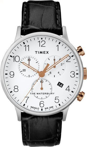 Zegarek Timex Zegarek Timex TW2R71700 Waterbury Collection uniwersalny 1