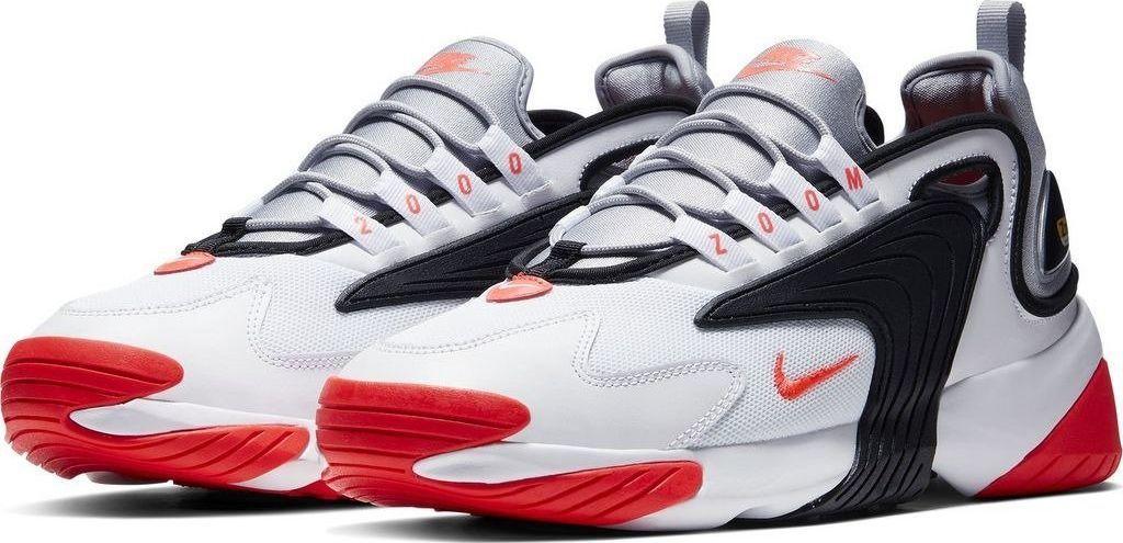 sportowe buty nike męskie biało czerwone