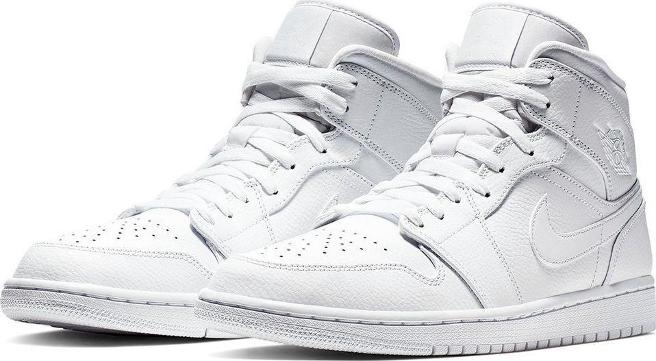 buty nike jordan białe