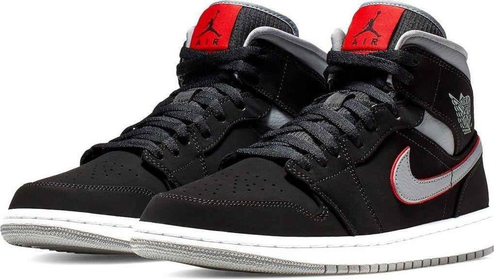 ogromny zapas wykwintny styl Hurt Nike Buty męskie Air Jordan 1 Mid czarne r. 41 (554724 060) ID produktu:  5919123