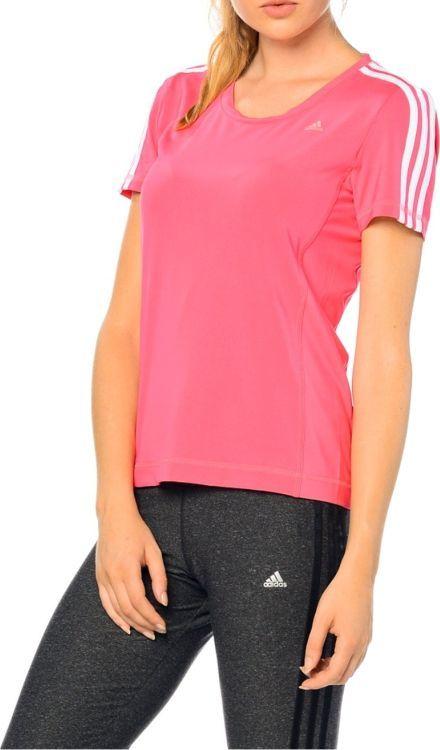 Adidas Koszulka damska Clima 3Sess Tee różowa r. L (AB5005) ID produktu: 5920620