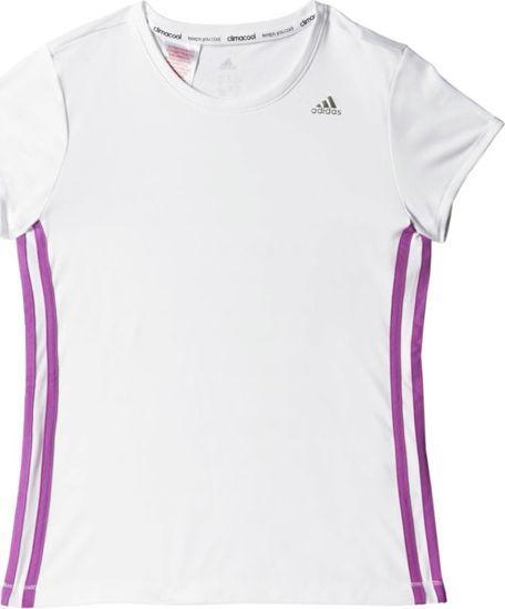 Adidas Koszulka dziecięca T Tee biała r. 116 (S20230) 1